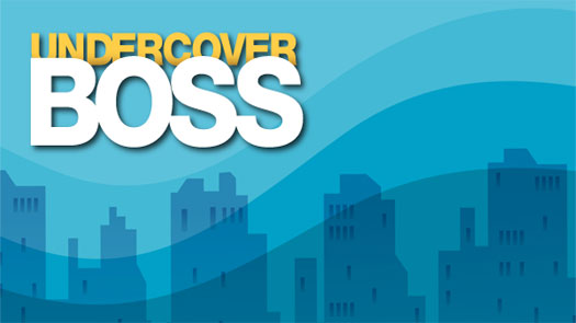 CBS #1 Friday as 'Undercover Boss' was the top program.