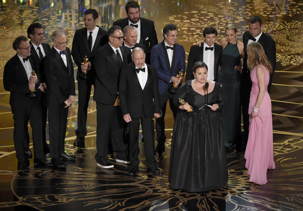 'Spotlight' named Best Picture @ 88th Annual Academy Awards