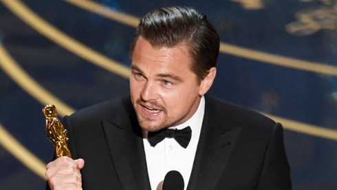 Leonardo DiCaprio named 'Best Actor'