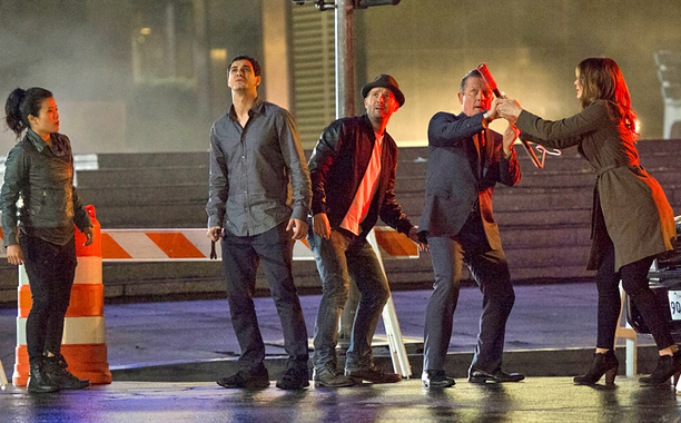 CBS #1 Monday as 'Scorpion' top program with over 11 million viewers.