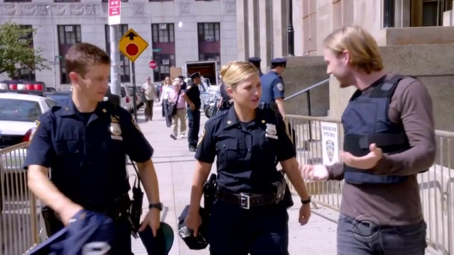 CBS #1 Friday as a rerun of 'Blue Bloods' was the top program.