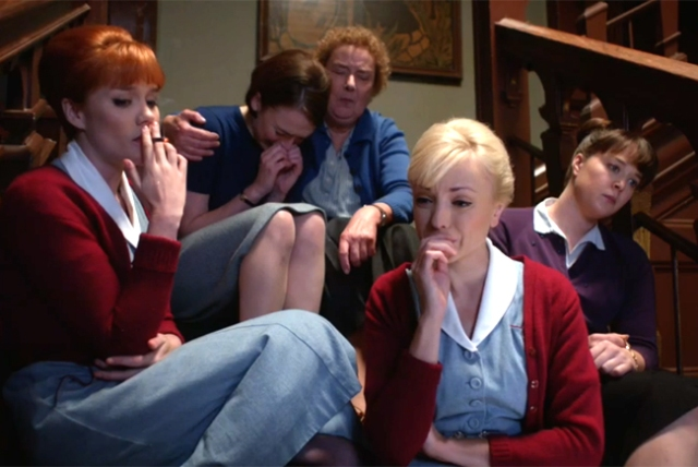 BBC One #1 Sunday with the season five finale of 'Call The Midwife' top program