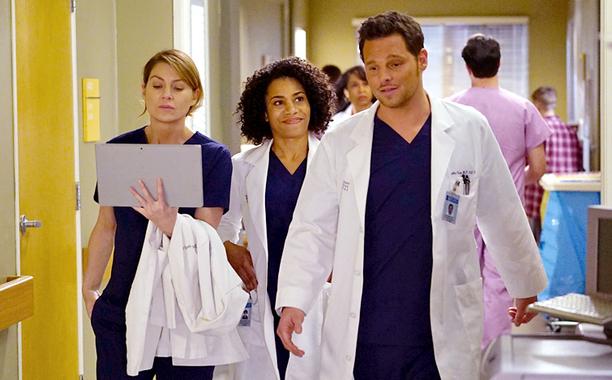 FOX #1 Thursday but ABC's 'Grey's Anatomy' top program.