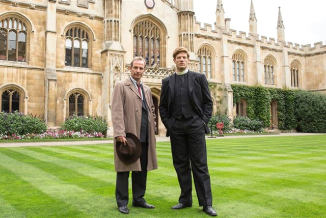 ITV #! Wednesday in the UK as 'Grantchester' & 'Coronation Street' were the top programs.