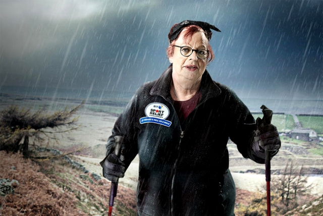 BBC One #1 Thursday as 'Jo Brand Walks For Sports Relief' was the top program and 'EastEnders' top soap.