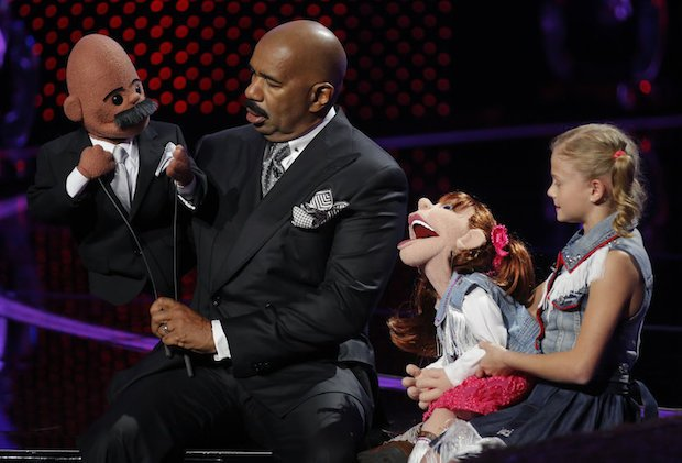NBC #1 Sunday as 'Little Big Shots' top program with over 14 million viewers.