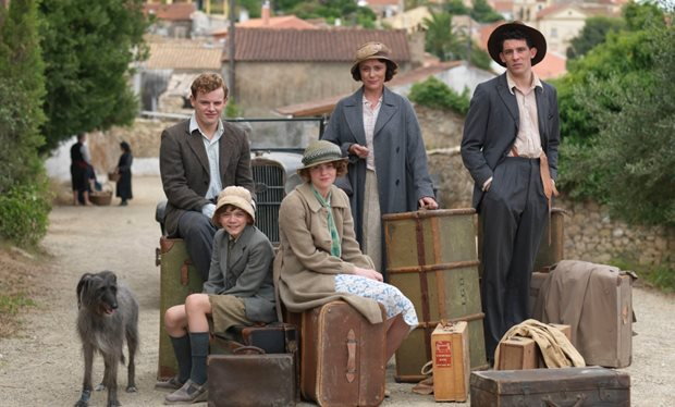 ITV #1 Sunday in the UK as 'The Durrells' top program in Late Peak.