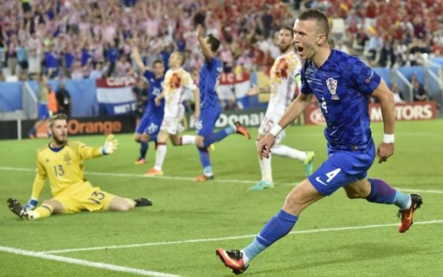 ITV #1 Tuesday in the UK as 'Euro 2016-Croatia beats  Spain 2-1' top program