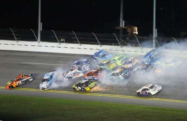 NBC #1 Saturday as 'NASCAR Sprint Cup' top program.
