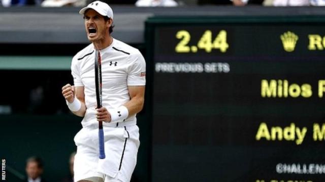 Murray wins Wimbledon 2016