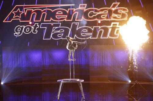 NBC #1 Wednesday as 'America's Got Talent' was the top program as Sofia contorted with an unbelievable bow & arrow.