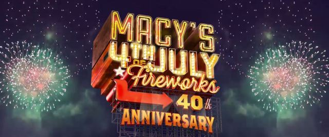 NBC #1 Monday as 'Macy's 40th Annual 4th of July Fireworks Spectacular' top program.