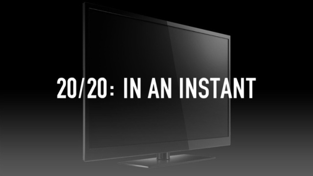 ABC #1 Saturday as '20/20:In An Instant' top program.