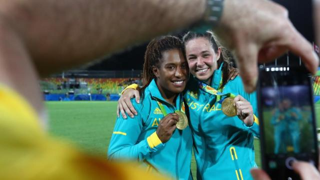 YES! http://www.smh.com.au/sport/olympics/rio-2016/olympics-australia/charlotte-caslick-puts-up-her-hand-as-target-of-kiwi-coachs-sledge-at-rio-olympics-rugby-sevens-20160809-gqo9hl.htm