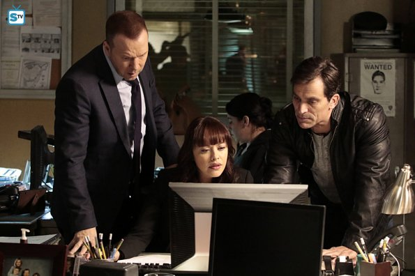 CBS #1 Friday as 'Blue Bloods' top program.