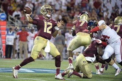 ESPN #1 overall on Monday as 'NCAA College Football' featuring Florida State vs Ole Miss was the top program on Labor Day in prime time.