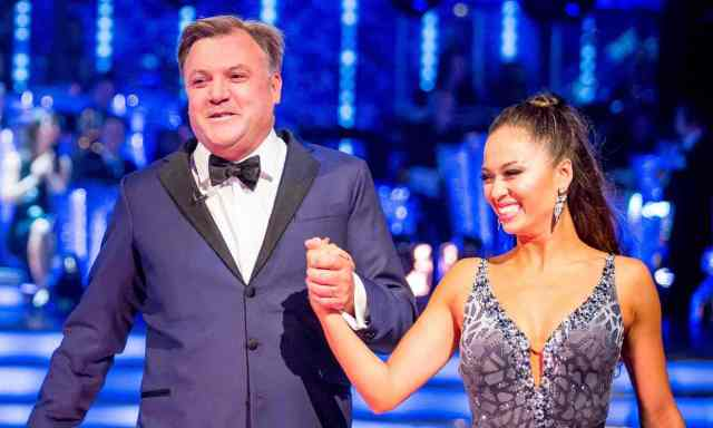 BBC One #1 in the UK Saturday as 'Strictly Comes Dancing' top program