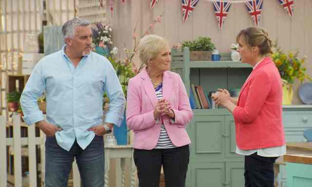 BBC One #1 Wednesday as 'The Great British Bake Off' was the top program.