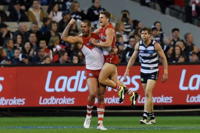 Seven #1 Friday as 'Sydney defeated Geelong' to gain birth in the Grand Finals finished as the top program of the evening in prime time.