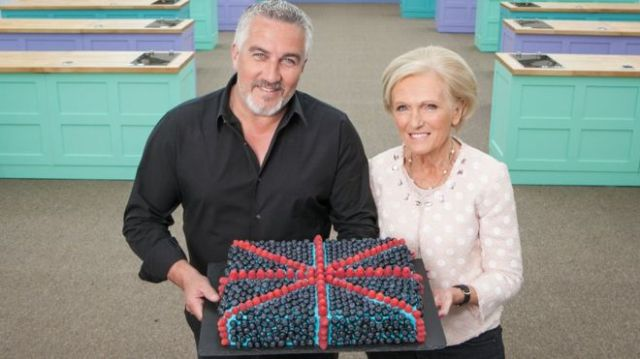 BBC One #1 Wednesday in the UK as 'The Great British Bake Off' was the top program with over 10 million viewers.
