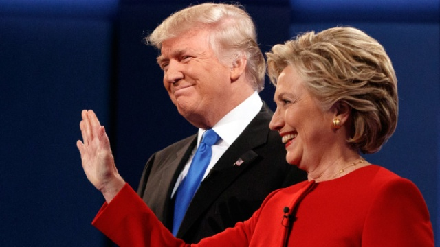 The first presidential debate drew a massive audience Monday night. Pending updates, the four broadcast networks that carried the debate averaged a combined 45.31 million viewers. The total audience, with adjustments for the live broadcast and the addition of cable channels, will be available later in the day.