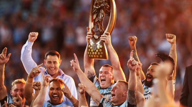 Nine #1 Sunday as the  Cronulla Sharks defeated the Melbourne Storm in the NRL Grand Final.