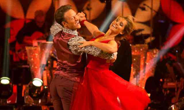 BBC One dominates Saturday in the UK as 'Strictly Come Dancing' was #1 program.
