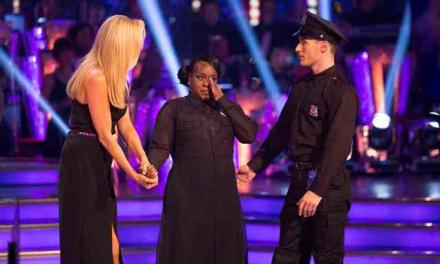 BBC One #1 Sunday as 'Strictly Come Dancing' results show top program in the UK.