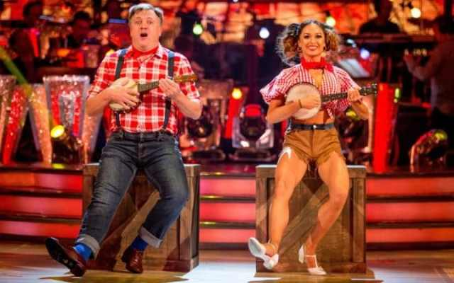 BBC One #1 in the UK Sunday as 'Strictly Come Dancing' top program.