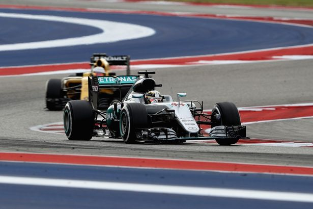 Lewis Hamilton wins back-to-back U.S. Grand Prix Sunday.