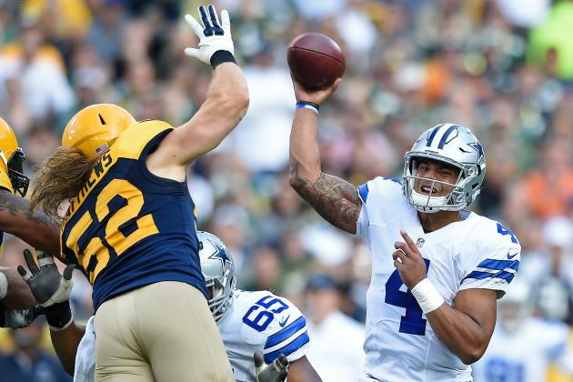 NBC #1 Broadcast Network  Sunday but FOX's 'NFL Cowboys vs Packers' top program.