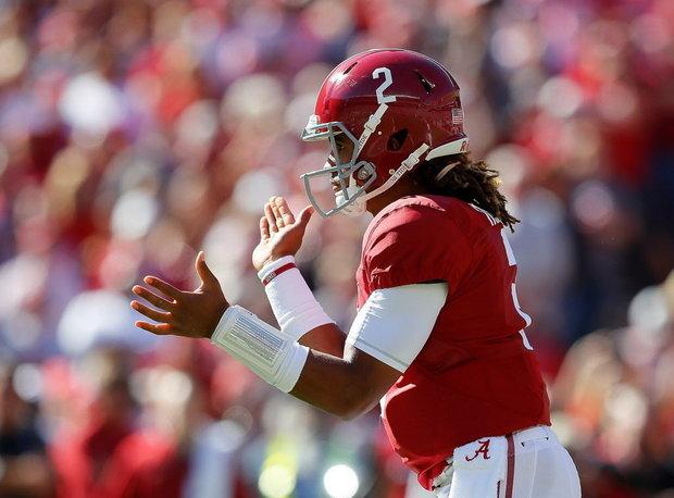 CBS #1 Saturday as 'SEC Football featuring Alabama vs LSU' top program.