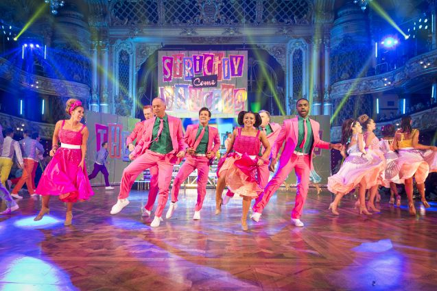 BBC One #1 Sunday in the UK as 'Strictly Come Dancing' top program.