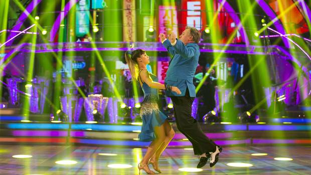 BBC One #1 in the UK Saturday as 'Strictly Come Dancing' draws top audience in the English speaking world.