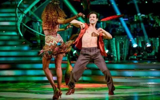 BBC One finished #1 as 'Strictly Come Dancing' was the top program anywhere peaking with over 11.5 million viewers.