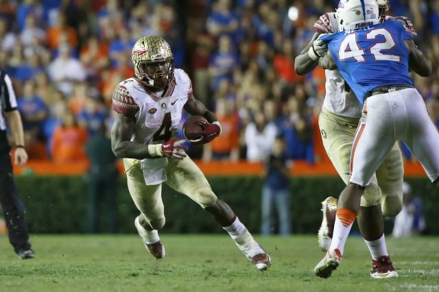 ABC #1 Saturday as 'College Football' Florida v Florida State top program.