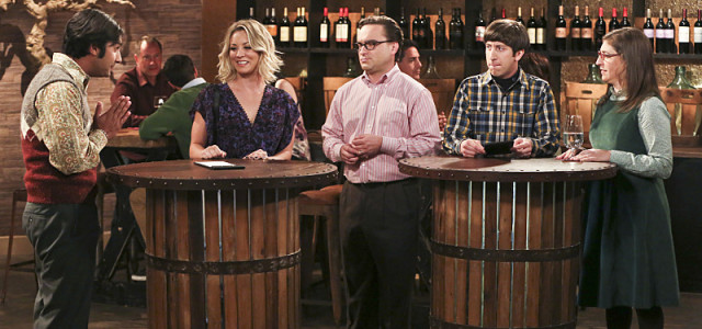 CBS #1 Thursday as 'The Big Bang Theory' was the top program in the English Speaking World Thursday.