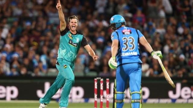 Ten #1 Wednesday in Australia as 'Cricket KFS Big Bash League' #1 program as Brisbane Heat defeated Adelaide Strikers.