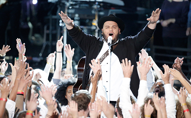 NBC #1 broadcast network Monday as 'The Voice' was the #1 broadcast program.