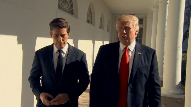 CBS #1 Wednesday but ABC's special 'President Trump:The White House Interview' was the top program.