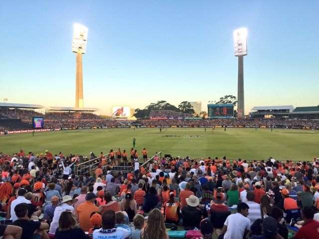 Seven #1 Tuesday but 'Cricket:KFC Big Bash League Semi Final 1 Session 2' #1 program as the Perth Scorchers beat Melbourne Stars.