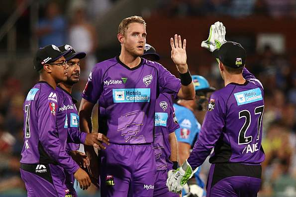Ten #1 Sunday in Australia as 'Cricket:KFC Big Bash League Game #20' top program featuring the Hobart Hurricanes V Sydney Thunder