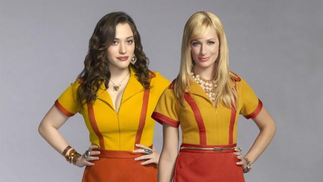 CBS #1 Tuesday as '2 Broke Girls' top program.