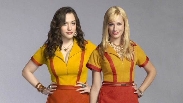 CBS #1 Tuesday as '2 Broke Girls' top program.