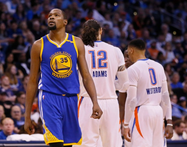 ABC #1 Saturday as 'NBA Basketball' featuring the Golden State Warriors and the Oklahoma City Thunder top program.